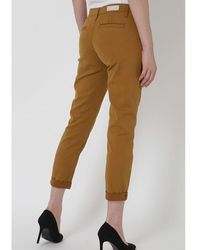 AG Jeans Ag Caden Trousers Mustard Gold - Pink