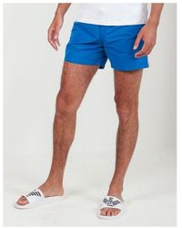Sundek Elastic Waist Heat Transfer Pocket Swimshorts Colour: Bay Blue,