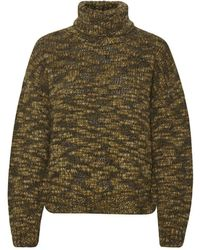 Part Two Elanur Chuvky Knit In Chocolate Glaze 30305446 - Green