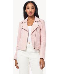 Lilla P Moto Jacket - Pink