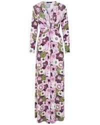 Ilse Jacobsen - Floral Dress Lavender - Lyst