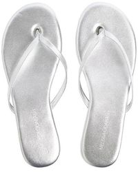 Melissa Odabash Sandals - Metallic