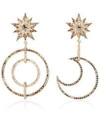 Thale Blanc Stellar Earrings - Metallic