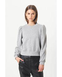 Second Female Carmella Crew Neck Sweatshirt - Grey