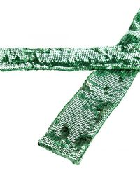The Attico Sequined Belt - Green