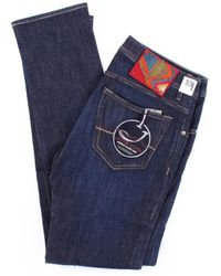 Jacob Cohen Dark Jeans Model 622 - Blue