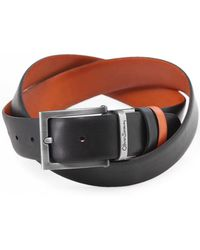 Oliver Sweeney Reversible Leather Malmsey Belt - Multicolour
