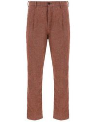 Pence Other Materials Pants - Brown