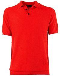 Roberto Collina T-shirt Short Sleeve - Red