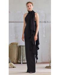 Solace London Dahlia Dress Black