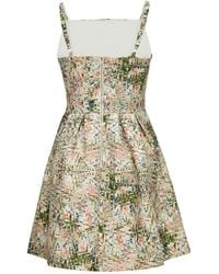 Almost Famous - Abstract Orchid Skater Dress - Lyst