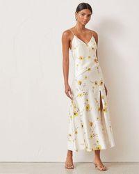 Bec & Bridge Colette Wrap Midi Dress - White
