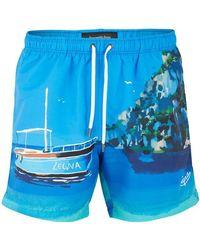 Ermenegildo Zegna Amalfi Swimshorts (blue)