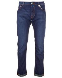 Jacob Cohen Light Other Materials Trousers - Blue