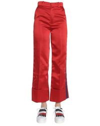 Tommy Hilfiger Women's Rw0rw00728643 Red Acetate Trousers