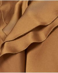 Part Two - Neila Bronze Blouse - Lyst