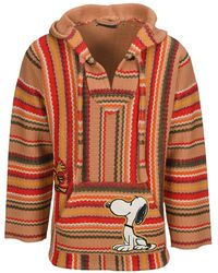 Alanui The Peanuts Patched Gauchos Hoodie - Multicolor