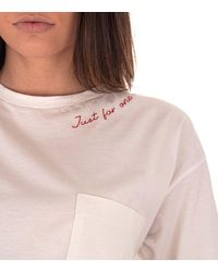 8pm T-shirt Abilene - White