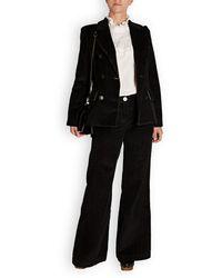 MASSCOB Lukas Cord Blazer Jacket - Black