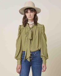 Silvian Heach Exotago Shirt- 20827 - Green