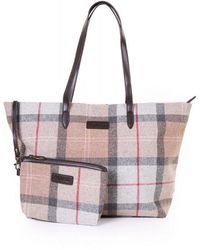 Barbour Witford Tote Bag - Pink