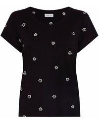 FABIENNE CHAPOT Kris Fleopard T-shirt - Black