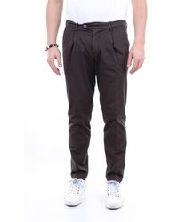 Michael Coal Men's Frederick2563ctestadimoro Brown Other Materials Trousers