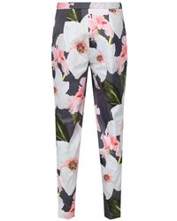 Ted Baker - Women's Aiimy Chatsworth Tapered Trouser - Lyst