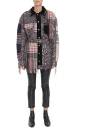 Maison Margiela Women's S29am0169s47371860 Multicolour Wool Coat