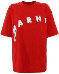 Marni Oversized T-shirt - Red