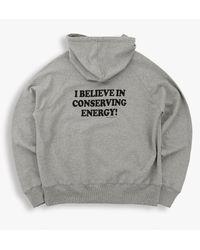 Tsptr Conserve Energy Hooded Sweat - Marl - Grey