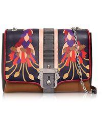 Paula Cademartori Women's Alifw17vtcafiin46 Black Leather Shoulder Bag