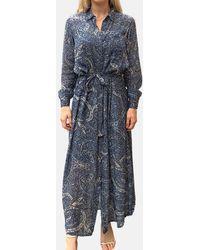 Swildens Emu Dress - Blue