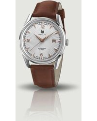 Lip Himalaya 40mm Automatic Watch - Saphir - Brown