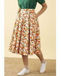 Emily and Fin Emily & Fin Sandy Skirt In Mini Summer S - Orange