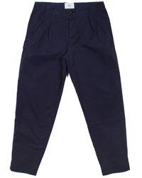 Folk Folk Assembly Pants In Navy - Blue