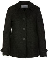 Harris Wharf London Coat Antracite - Grey