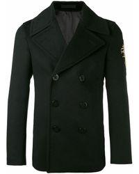 Alexander McQueen Wool Coat - Black
