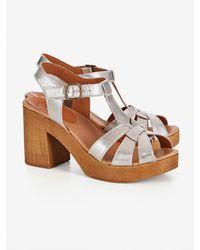 Penelope Chilvers Jude Metallic Sandal