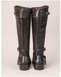 Belstaff Trialmaster Tall Black Boot