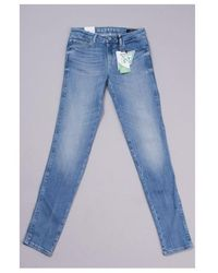Guess Curve X Eco Featherweight Jeans Colour: Light Wash - Blue