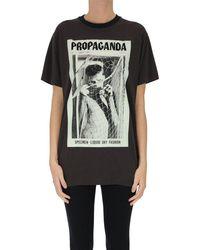 Acne Studios Printed T-shirt - Grey
