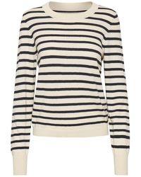 Part Two Gertie Striped Knit - Multicolour