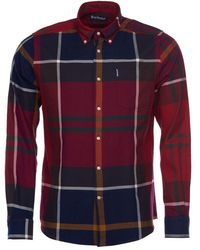 Barbour Dunoon Red Shirt
