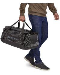 Patagonia Duffle Bag 55l Black Hole - Grey Plume - Multicolour