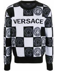 Versace Men's A87268a235904a2024 Black Viscose Sweatshirt