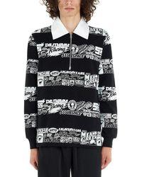 SSS World Corp Men's Lspolo1blck Black Cotton Polo Shirt