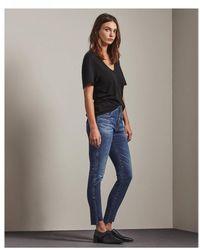AG Jeans Ag Women's Emp1777ro The Farrah Skinny Blue Ankle Blue Jean