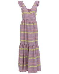Devotion Chloi Long Maxi Dress - Purple