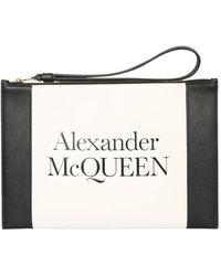McQ Signature Clutch - White